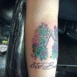 Фото татуировки с легкими человека 23.03.2020 №051 -lung tattoos- tatufoto.com
