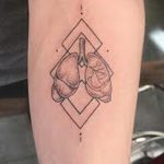 Фото татуировки с легкими человека 23.03.2020 №060 -lung tattoos- tatufoto.com