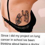 Фото татуировки с легкими человека 23.03.2020 №067 -lung tattoos- tatufoto.com