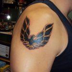 Фото татуировки с логотипом 15.03.2020 №003 -tattoo logo- tatufoto.com