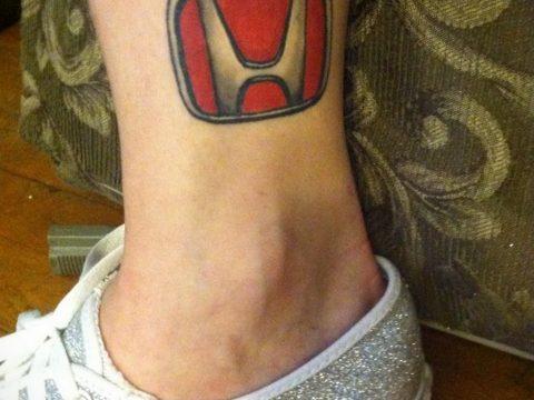 Фото татуировки с эмблемой 15.03.2020 №046 -tattoo emblem- tatufoto.com