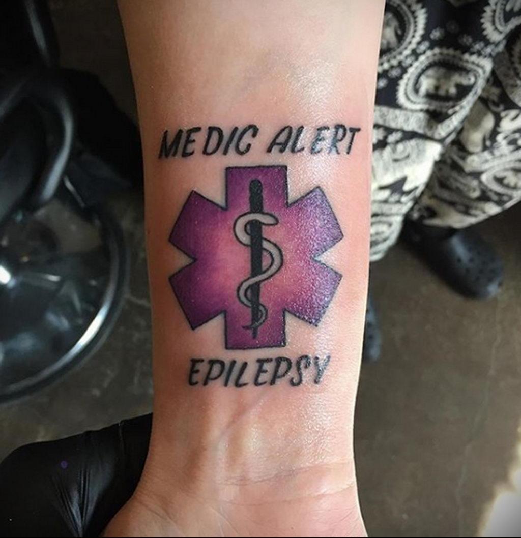 Фото татуировок для больных эпилепсией 25.03.2020 №099 -epilepsy tattoo- tatufoto.com