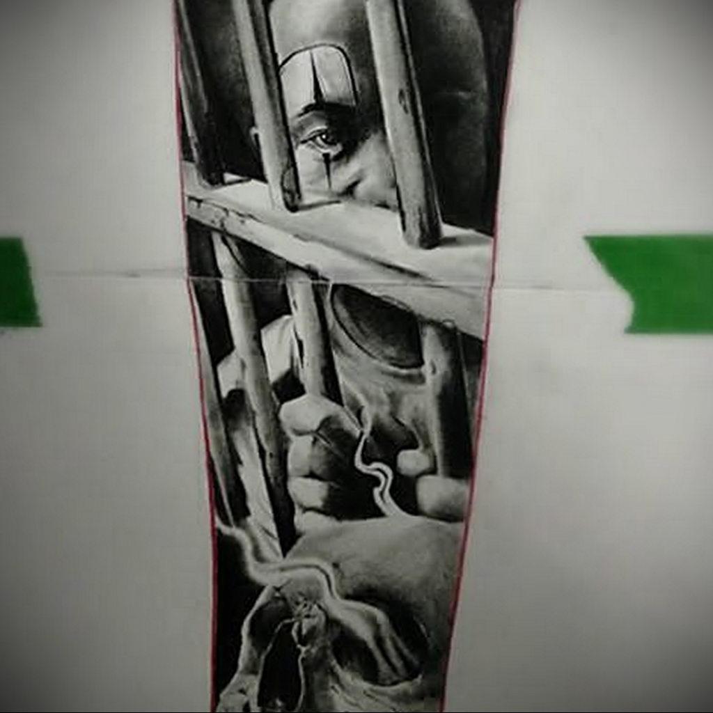 Фото тату на тему рабства 25.03.2020 №001 -slave tattoo- tatufoto.com