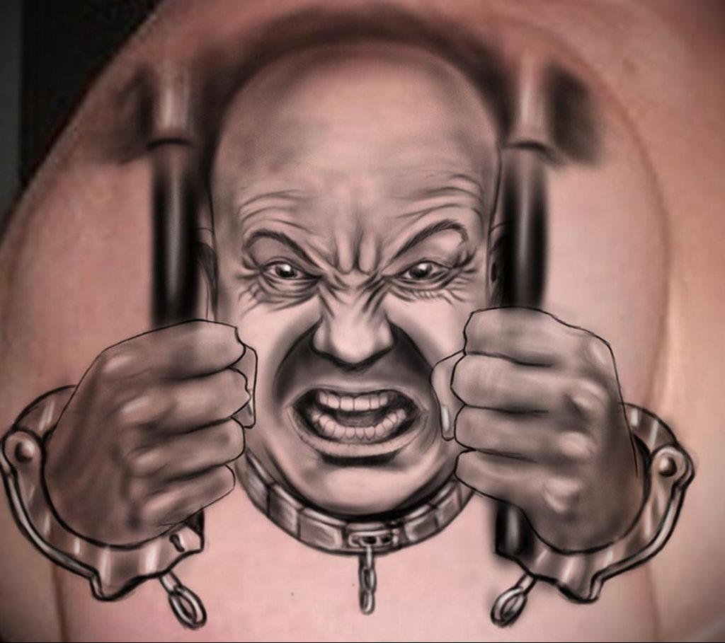 Фото тату на тему рабства 25.03.2020 №018 -slave tattoo- tatufoto.com