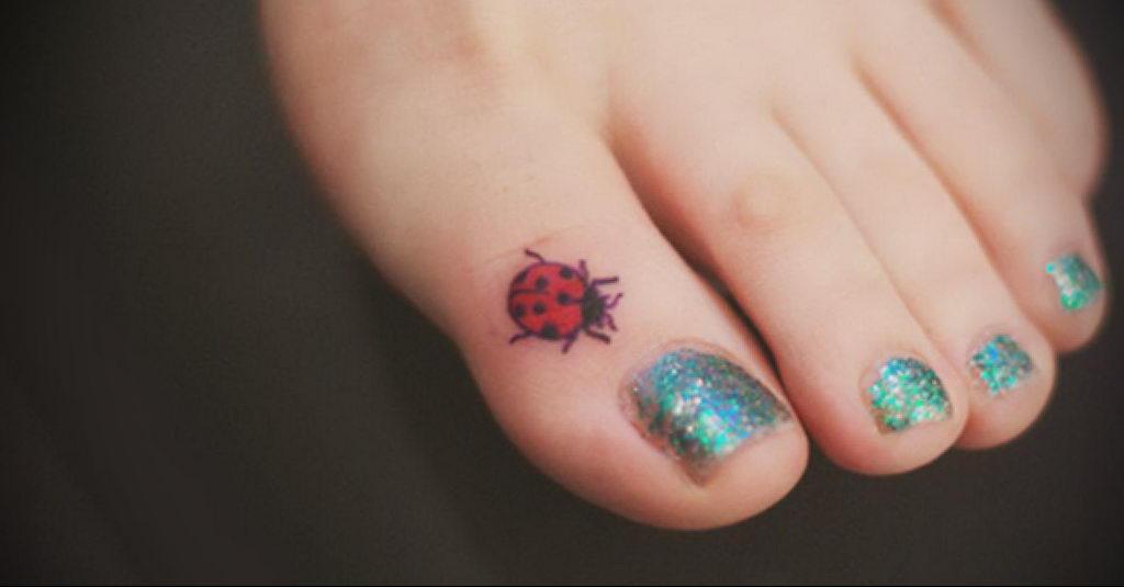 Фото тату про любовь рисунок Божья Коровка 03.02.2020 №118 -ladybug- tatufoto.com
