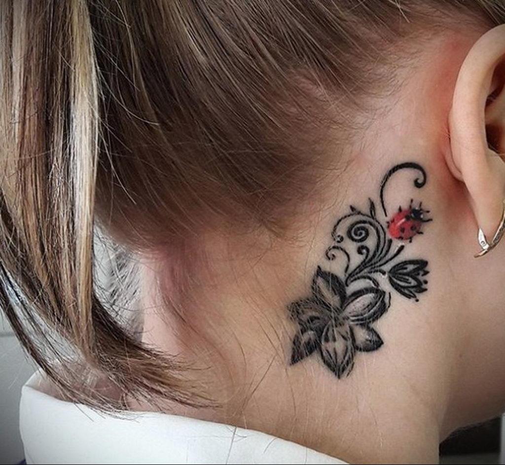 Фото тату про любовь рисунок Божья Коровка 03.02.2020 №169 -ladybug- tatufoto.com
