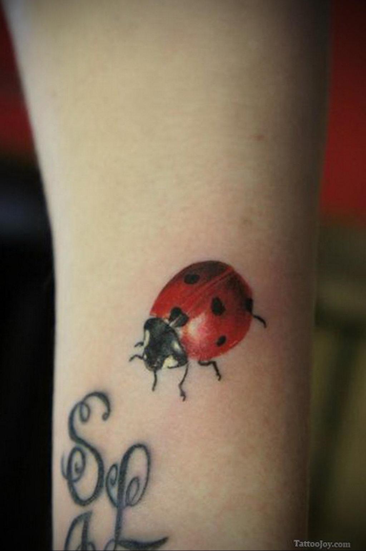 Фото тату про любовь рисунок Божья Коровка 03.02.2020 №251 -ladybug- tatufoto.com