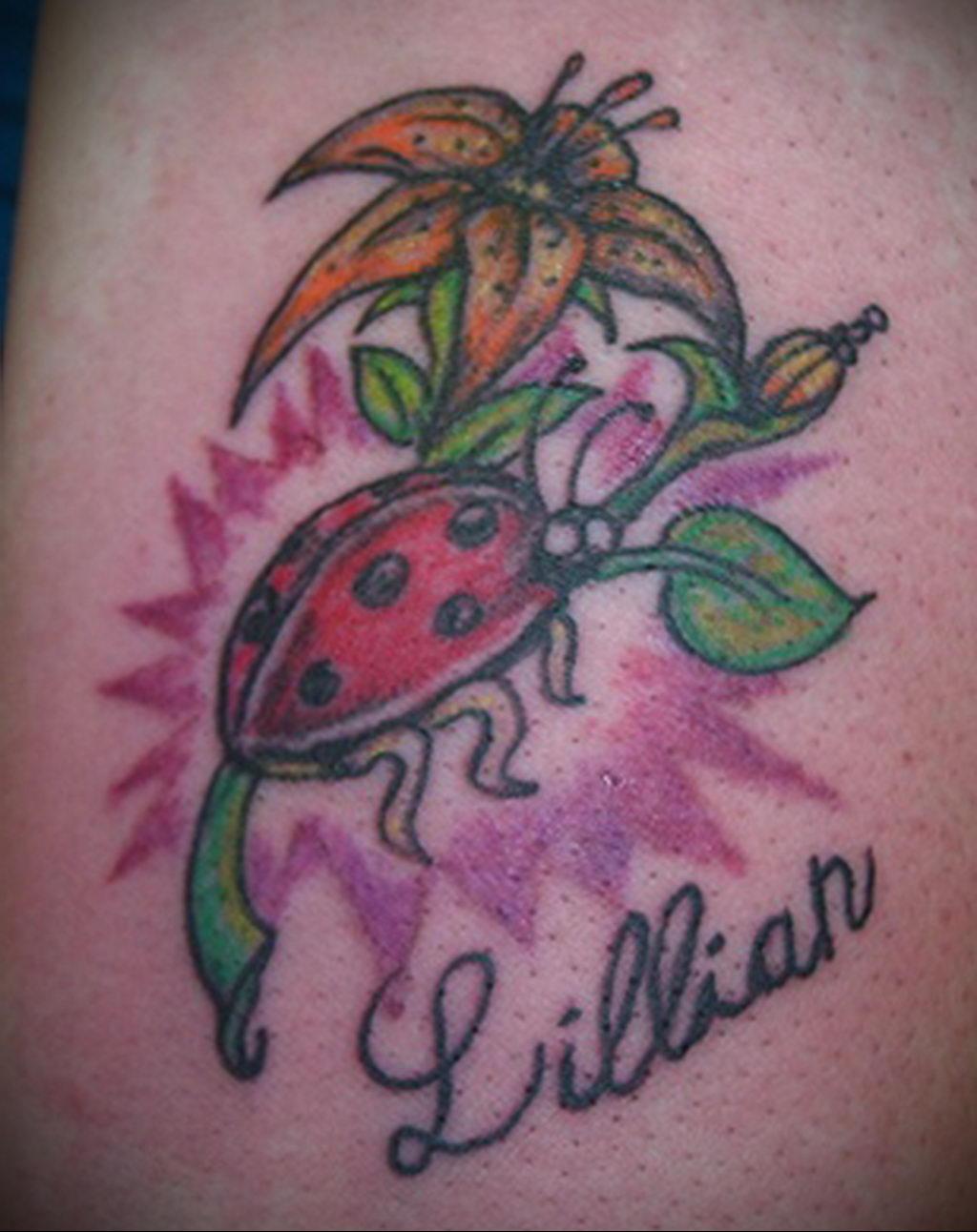 Фото тату про любовь рисунок Божья Коровка 03.02.2020 №265 -ladybug- tatufoto.com