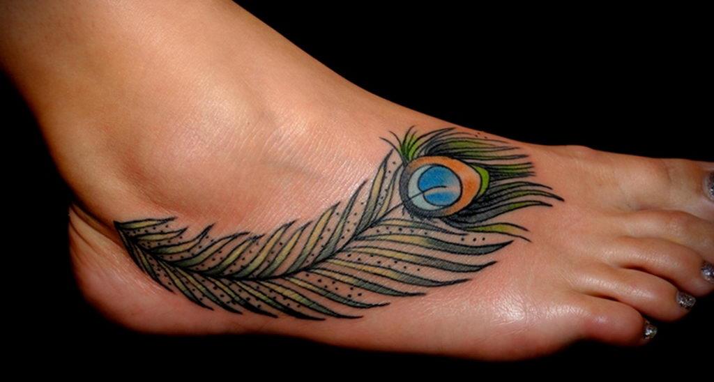 Фото тату про любовь рисунок Перо 03.02.2020 №247 -tattoo feather- tatufoto.com