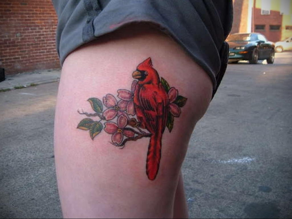 Фото тату про любовь рисунок Птица 03.02.2020 №011 -bird tattoo- tatufoto.com