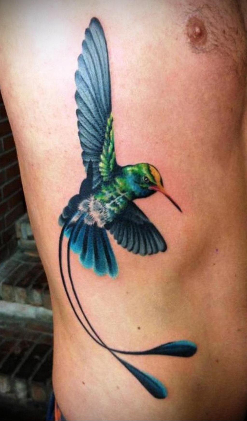 Фото тату про любовь рисунок Птица 03.02.2020 №030 -bird tattoo- tatufoto.com