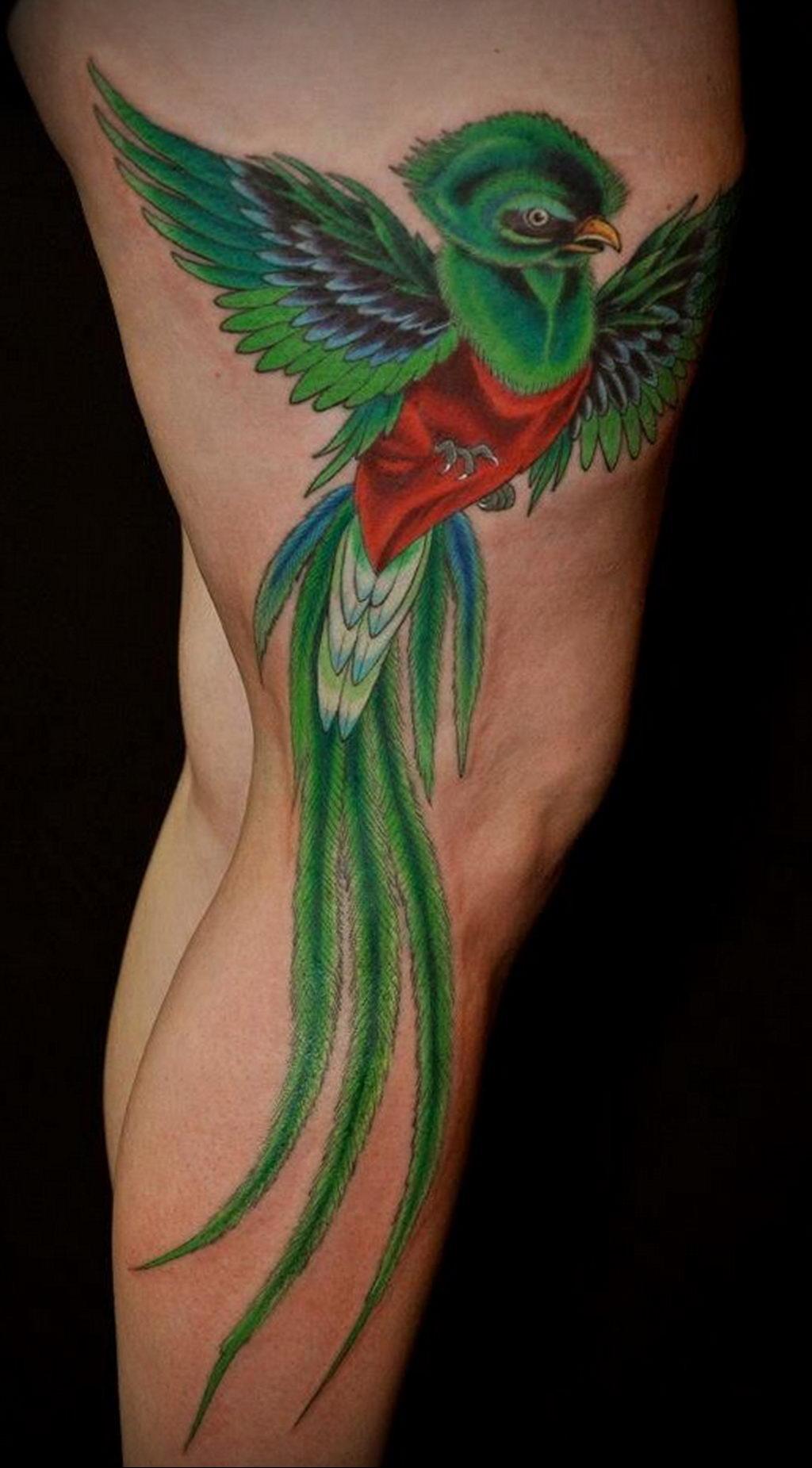 Фото тату про любовь рисунок Птица 03.02.2020 №038 -bird tattoo- tatufoto.com