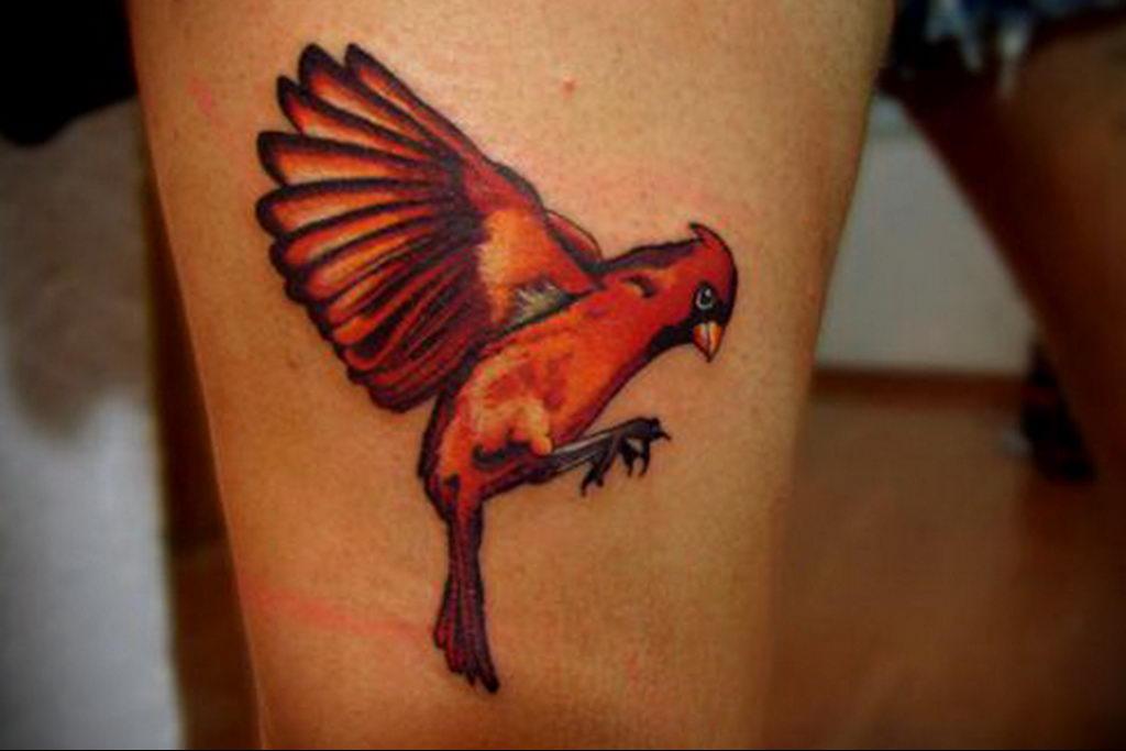 Фото тату про любовь рисунок Птица 03.02.2020 №057 -bird tattoo- tatufoto.com