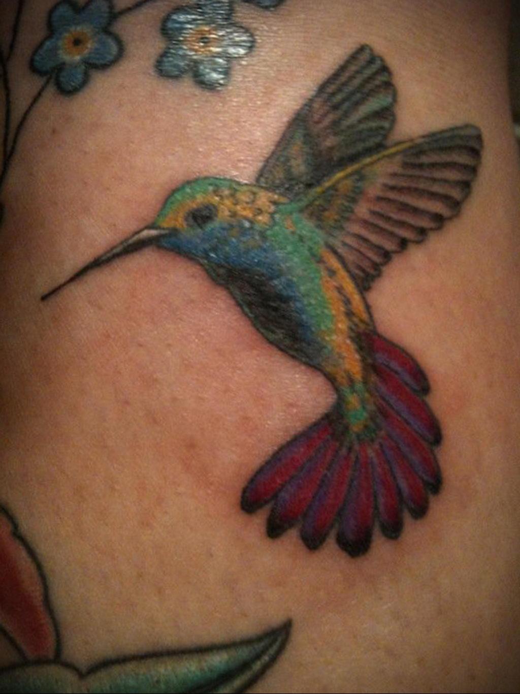 Фото тату про любовь рисунок Птица 03.02.2020 №058 -bird tattoo- tatufoto.com