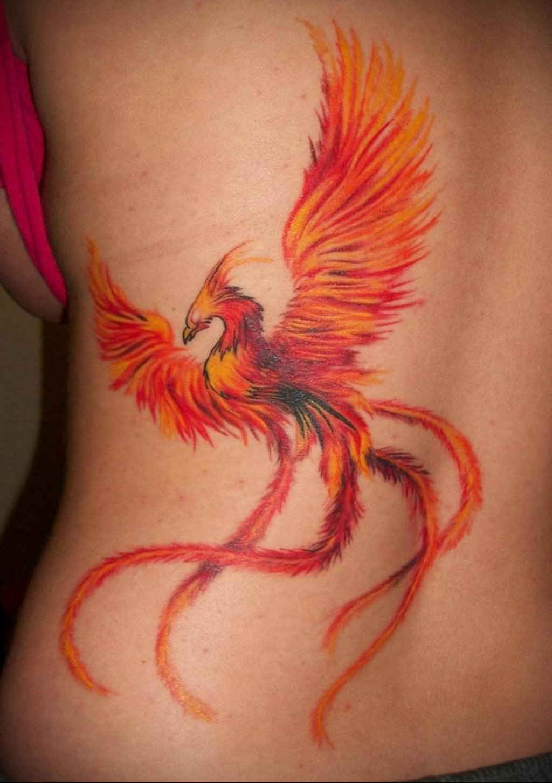 Фото тату про любовь рисунок Птица 03.02.2020 №082 -bird tattoo- tatufoto.com