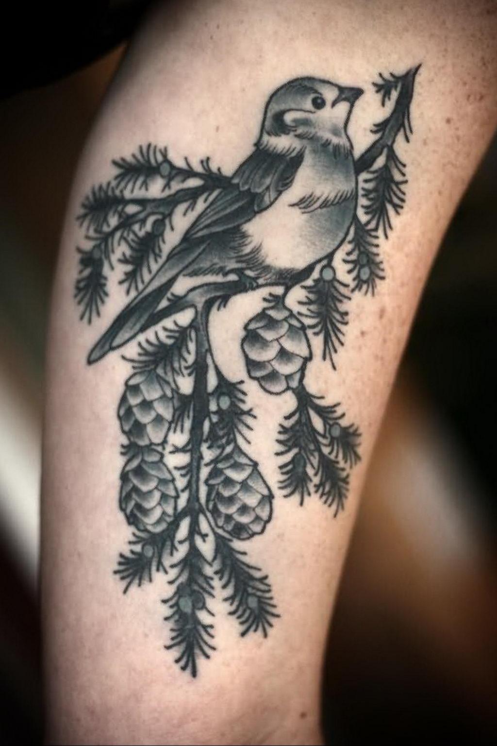 Фото тату про любовь рисунок Птица 03.02.2020 №175 -bird tattoo- tatufoto.com