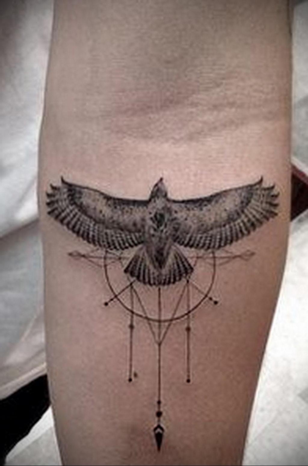 Фото тату про любовь рисунок Птица 03.02.2020 №180 -bird tattoo- tatufoto.com