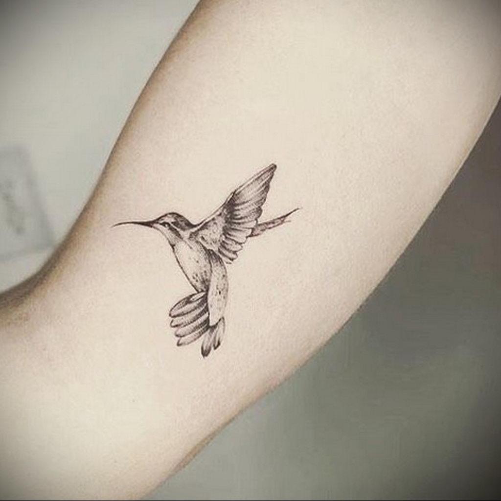 Фото тату про любовь рисунок Птица 03.02.2020 №202 -bird tattoo- tatufoto.com