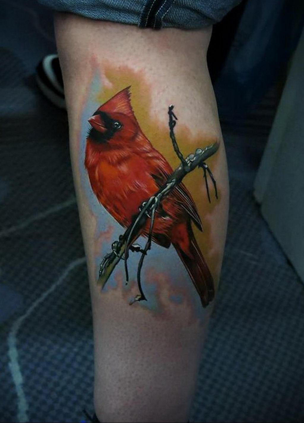 Фото тату про любовь рисунок Птица 03.02.2020 №207 -bird tattoo- tatufoto.com