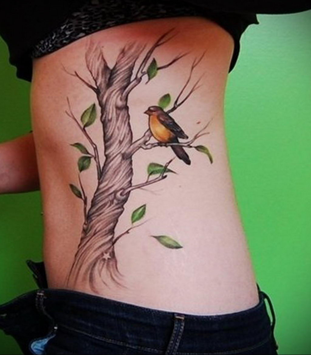 Фото тату про любовь рисунок Птица 03.02.2020 №220 -bird tattoo- tatufoto.com