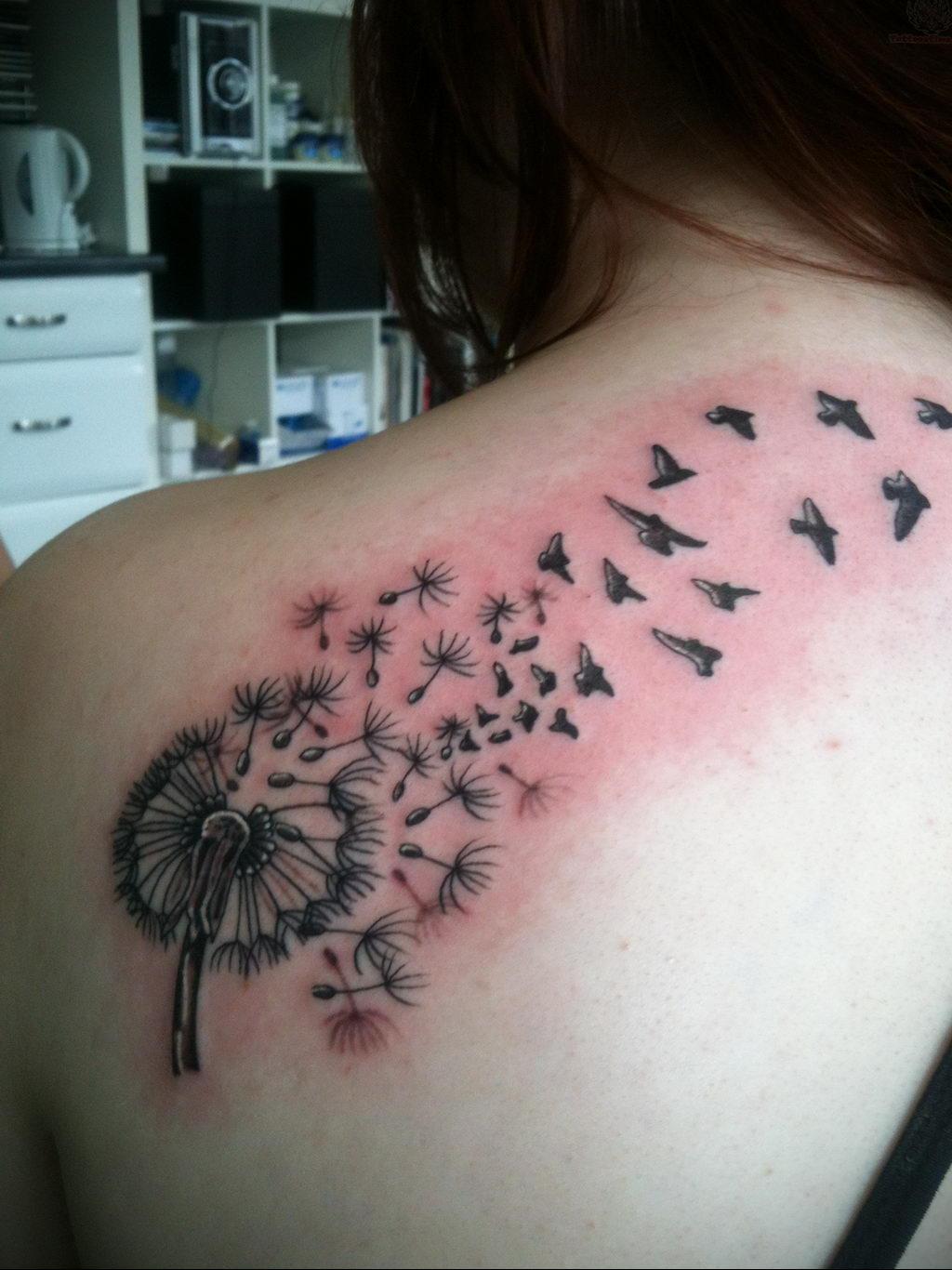 Фото тату про любовь рисунок Птица 03.02.2020 №238 -bird tattoo- tatufoto.com