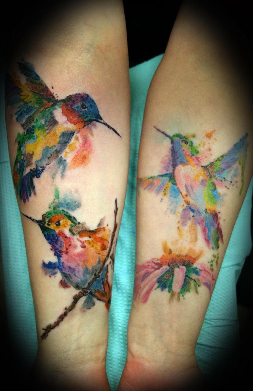 Фото тату про любовь рисунок Птица 03.02.2020 №288 -bird tattoo- tatufoto.com