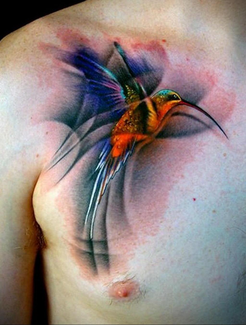 Фото тату про любовь рисунок Птица 03.02.2020 №291 -bird tattoo- tatufoto.com