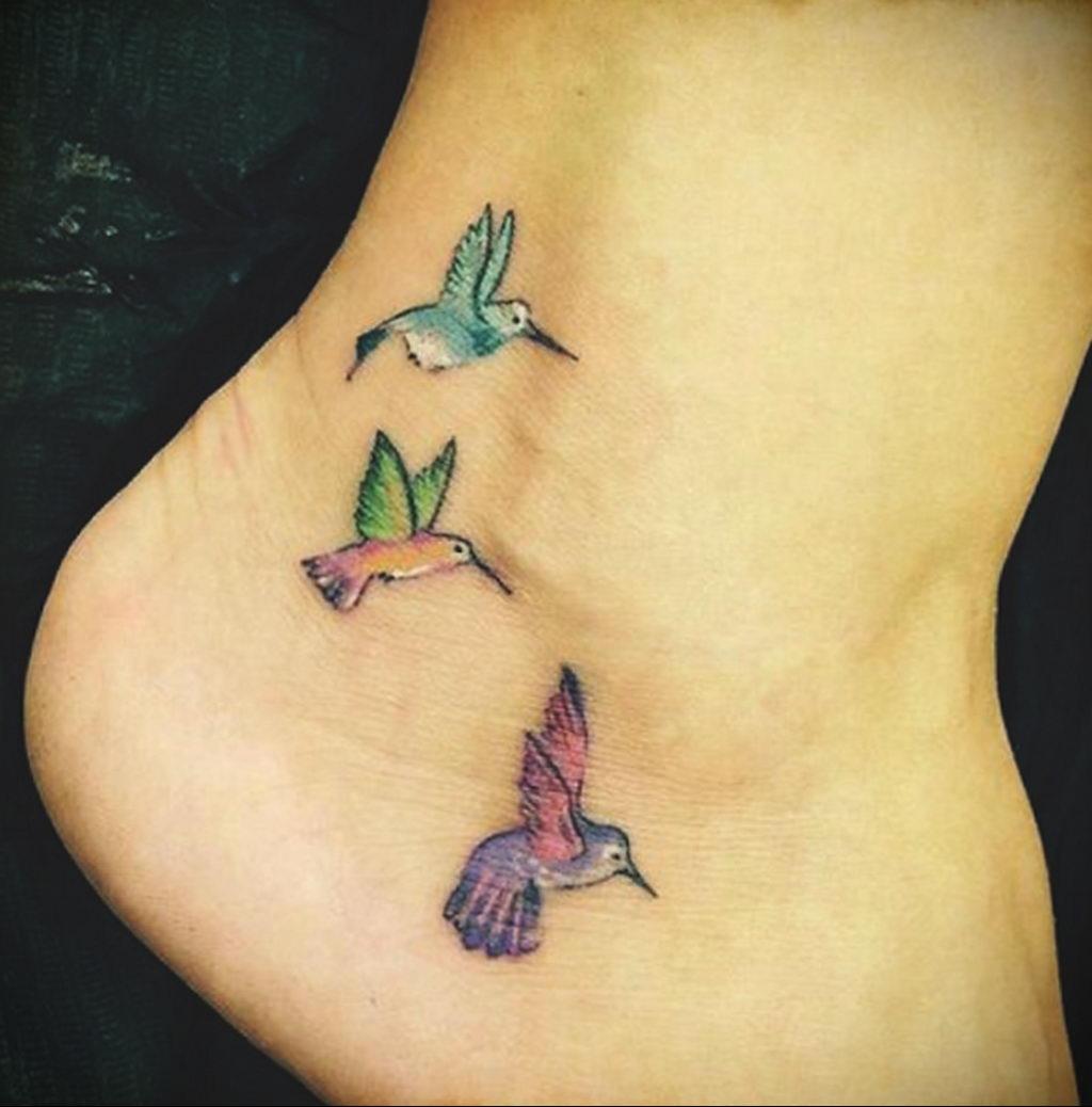 Фото тату про любовь рисунок Птица 03.02.2020 №299 -bird tattoo- tatufoto.com
