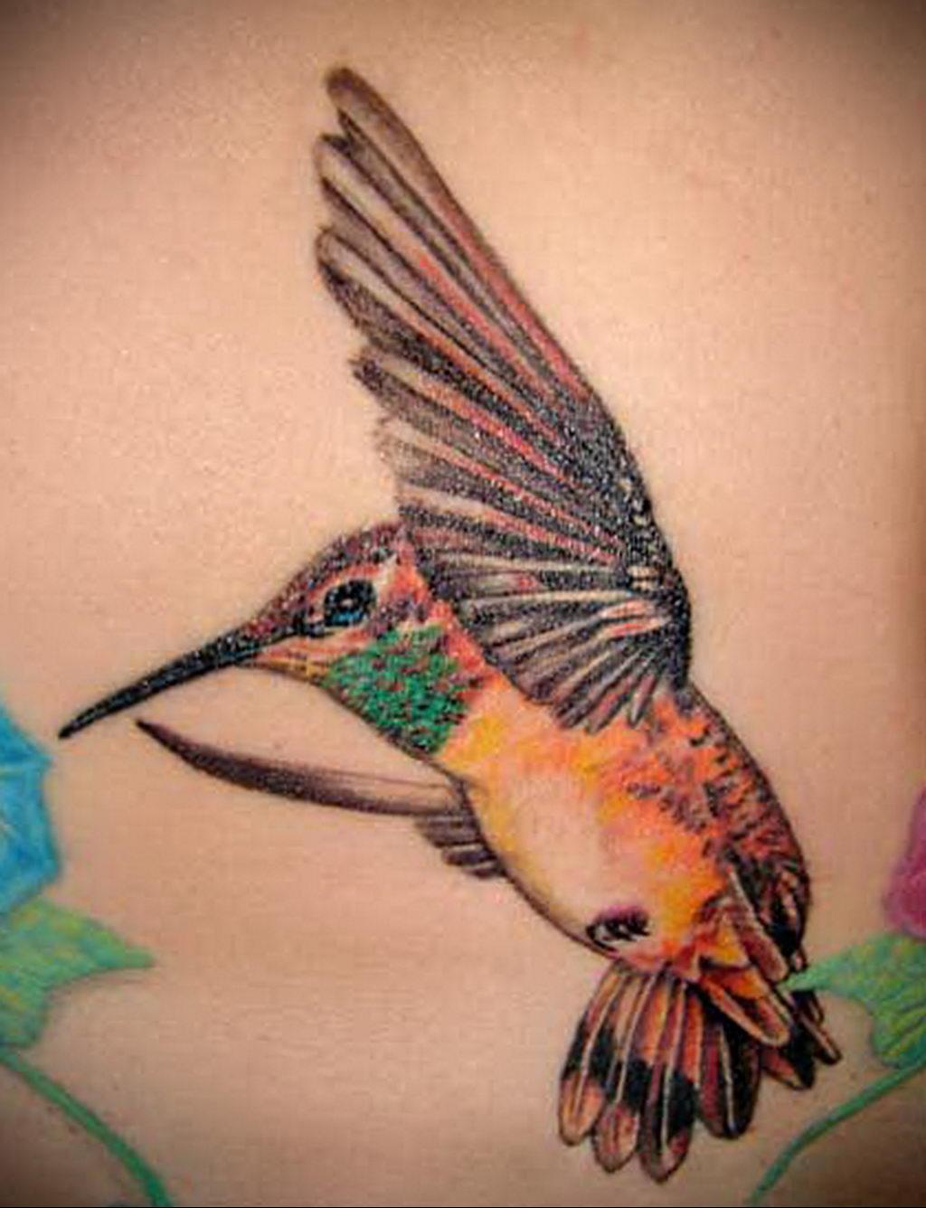 Фото тату про любовь рисунок Птица 03.02.2020 №302 -bird tattoo- tatufoto.com