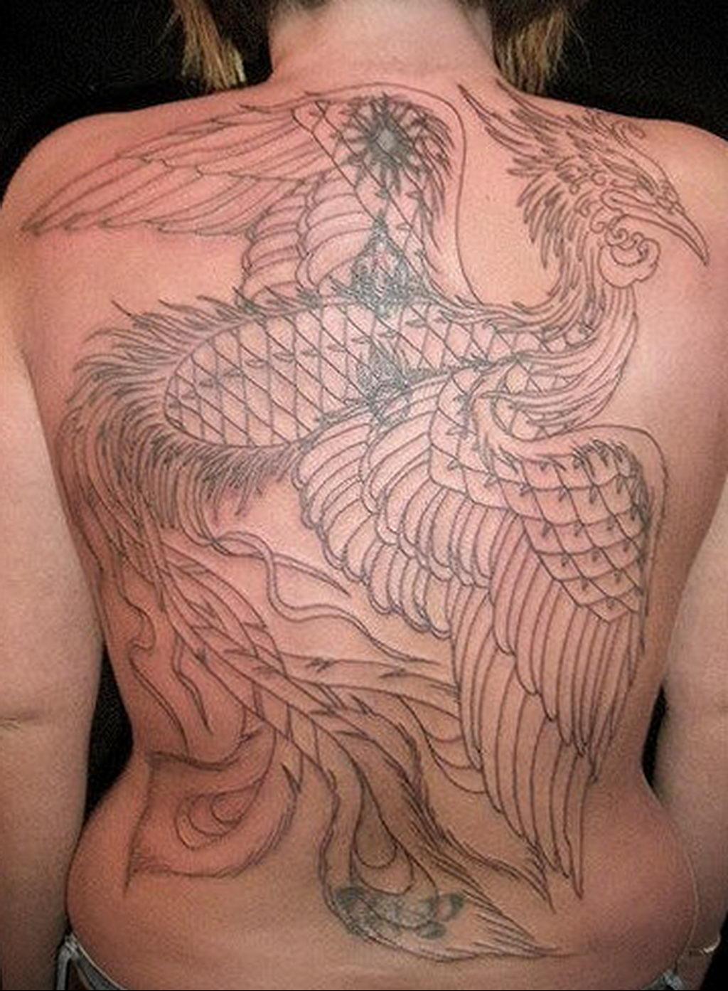 Фото тату про любовь рисунок Птица 03.02.2020 №333 -bird tattoo- tatufoto.com