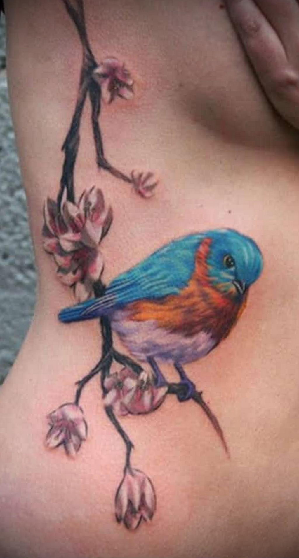 Фото тату про любовь рисунок Птица 03.02.2020 №361 -bird tattoo- tatufoto.com