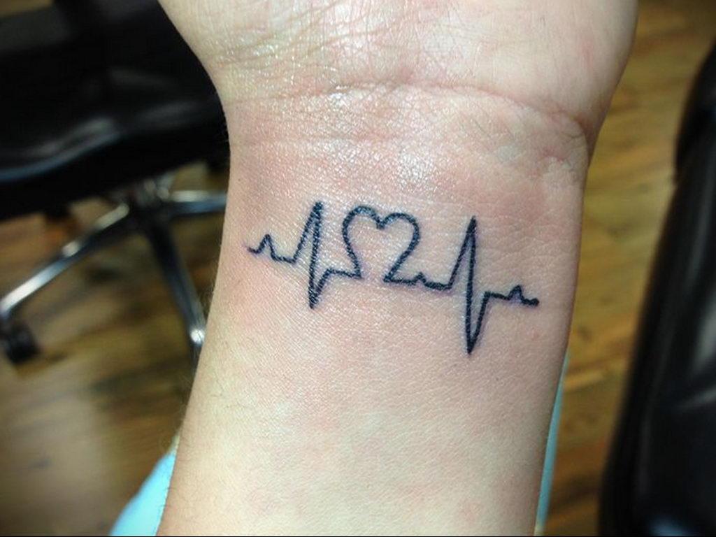 Фото тату про любовь рисунок Сердце 03.02.2020 №004 -heart tattoo- tatufoto.com