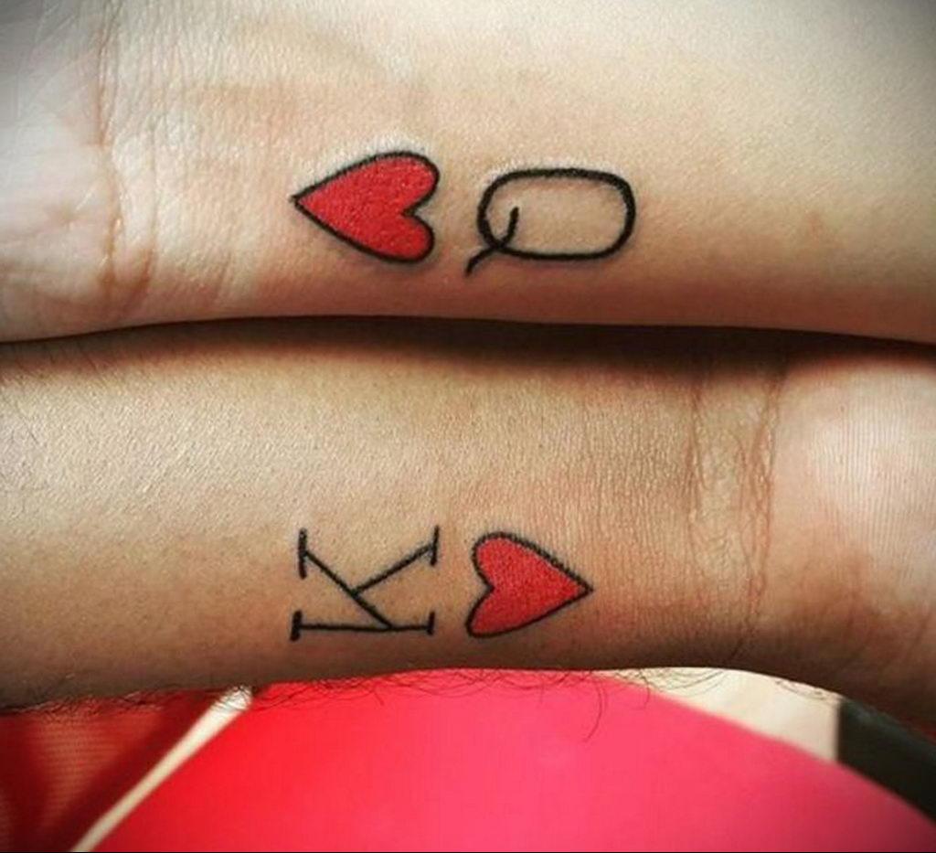 Фото тату про любовь рисунок Сердце 03.02.2020 №018 -heart tattoo- tatufoto.com