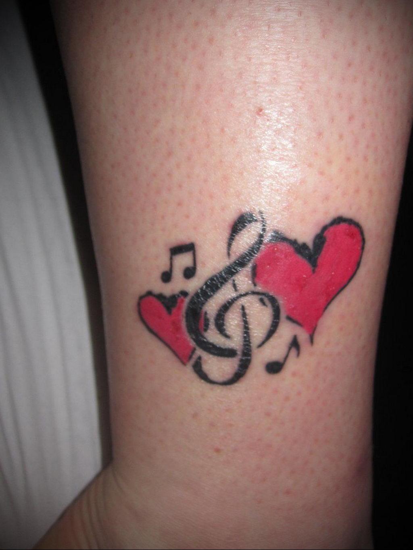 Фото тату про любовь рисунок Сердце 03.02.2020 №038 -heart tattoo- tatufoto.com