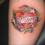 Фото тату про любовь рисунок Сердце 03.02.2020 №322 -heart tattoo- tatufoto.com