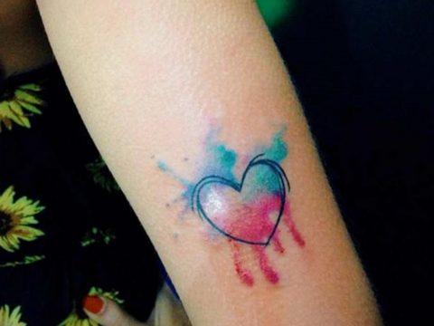 Фото тату про любовь рисунок Сердце 03.02.2020 №333 -heart tattoo- tatufoto.com