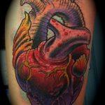 Фото тату про любовь рисунок Сердце 03.02.2020 №336 -heart tattoo- tatufoto.com