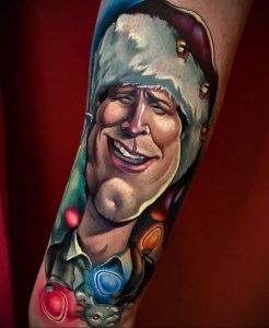 Хозяйка тату салона – КЕЛЛИ ДОТИ – инста – @kellydotylovessoup - Фото готовой тату для сайта tatufoto.com 6