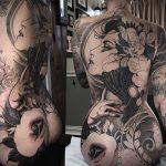 @chelseagabriellee - Красивая девушка с татуировками на карантине во время эпидемии COVID-19 для tatufoto.com 10