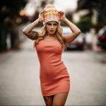@dennyinked_ - Красивая девушка с татуировками на карантине во время эпидемии COVID-19 для tatufoto.com 10