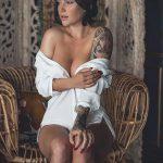 @kaylalaurenofficial - Красивая девушка с татуировками на карантине во время эпидемии COVID-19 для tatufoto.com 1