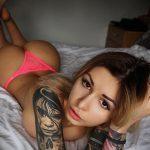 @missttkiss - Красивая девушка с татуировками на карантине во время эпидемии COVID-19 для tatufoto.com 2