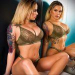@thenaraford - Красивая девушка с татуировками на карантине во время эпидемии COVID-19 для tatufoto.com 2