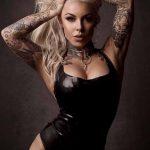 @venus_starr - Красивая девушка с татуировками на карантине во время эпидемии COVID-19 для tatufoto.com 2