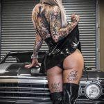 @venus_starr - Красивая девушка с татуировками на карантине во время эпидемии COVID-19 для tatufoto.com 4