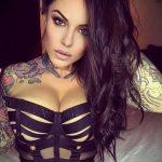 @venus_starr - Красивая девушка с татуировками на карантине во время эпидемии COVID-19 для tatufoto.com 6