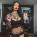 @xrosangelacruz - Красивая девушка с татуировками на карантине во время эпидемии COVID-19 для tatufoto.com 1