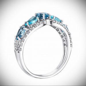 Серебряное кольцо со вставкой - как выбрать качественное украшение - фото 1