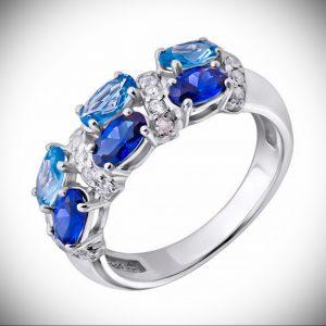 Серебряное кольцо со вставкой - как выбрать качественное украшение - фото 2