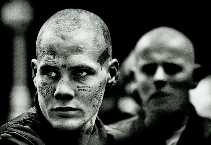 Татуировки скинхедов из 90-х годов - фото 1